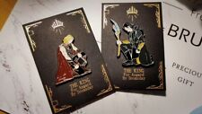Marvel The Avenger Thorki Loki Thor Enamel Brooch Pin 2pc Collection Limited N