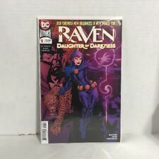 Raven Daughter of Darkness #1 DC Comic 1st Print 2018 New NM