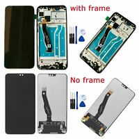 For Huawei Y9 (2019)/ Enjoy 9 Plus LCD Display Touch Screen Digitizer + Frame BK