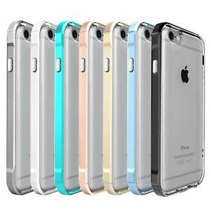For Apple iPhone 6/7/8 Plus Transparent Clear Shockproof Bumper Case