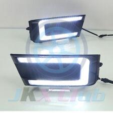 For Skoda Octavia 2016-2017 DRL Daytime Running Light Lamp Fog Lamp Bezel Kit h