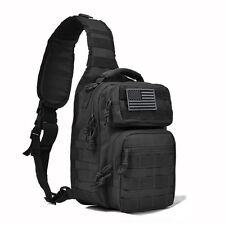 Tactical Sling Bag Military Backpack Pack Rover Small Shoulder Sling Molle