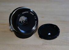 Nikon Nikkor Lente De 50mm 1:2