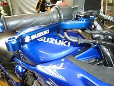 SUZUKI  600 650 250 BANDIT LONG BLACK BRAKE CLUTCH LEVERS ROAD RACE R15D2
