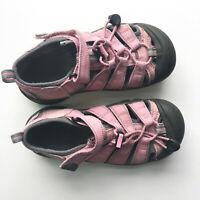 KEEN Newport H2 Girls Size 1 EU 33 Big Kids Pink Waterproof Sandals Shoes