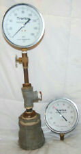 VINTAGE H.O. TRERICE PRESSURE GUAGES PSI 160 & 30 WITH METAL CAP FITTING