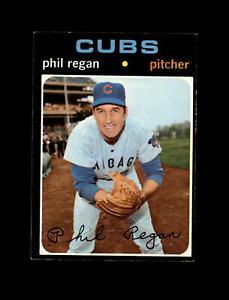 1971 Topps Baseball #634 Phil Regan (Cubs) NM