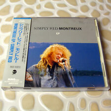 Simply Red - Montreux EP JAPAN CD 4Trk W/OBI Mint RARE OOP #136-4
