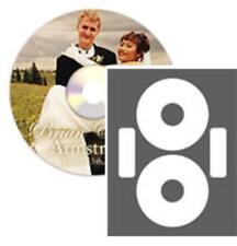LaserGloss CD/DVD Labels - 100 Pack (CLP-192235)