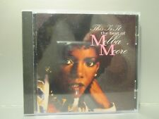 This Is It: The Best of Melba Moore (CD, Mar-1995, Razor & Tie) Brand New
