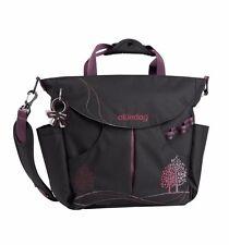 okiedog Dahoma Black Purple Sumo Nappy / Diaper Bag