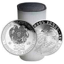 2016 1 oz Silver Armenian Noah's Ark Coin (BU, Lot of 20, Tube)