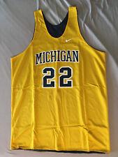 Vintage 1999 Michigan Basketball Practice Jersey Louis Bullock