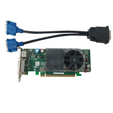 Dell Optiplex 745 755 SFF Video Card XX355 w/ Cable for DMS-59 To Dual VGA