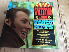 hank williams jr.-greatest hits 1971 M.G.M select u.K. l.P.
