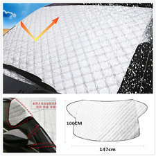 Car Windscreen Cover Anti Snow Frost Ice Shield Dust Protector Heat Sun Shade DE