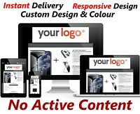 eBay Listing Templates HTTPS Premium Auction HTML Fully Responsive Mobile Design