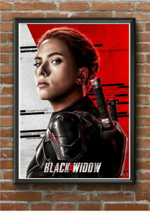 BLACK WIDOW A4 Size Poster Print Vintage Marvel Movie Film Cool Cinema Posters !