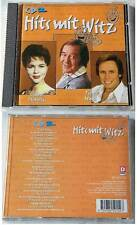 HITS MIT WITZ (CD 2) Benny Quick, Ray Miller, Bill Ramsey, Chris Howland,.CD TOP