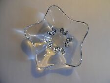 Baccarat Crystal Free Form Candy Dish, France (It's Heavy)
