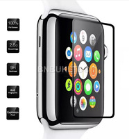 3 X Border Edge Tempered Glass Screen Protector For Apple Watch Series 1/2 42MM