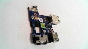 Dell Latitude E6400 USB/Ethernet/Audio Board LS-3804P W946D 0W946D #3L291