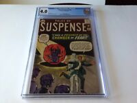 TALES OF SUSPENSE 33 CGC 4.0 THE CHAMBER OF FEAR DITKO KIRBY MARVEL COMICS