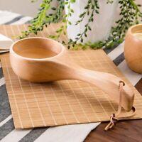 Japan Stil Tragbare Holz LöFfel Reis Schaufel Sauna Wasser SchöPfkelle Bad  C5T3