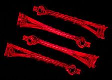 TRAXXAS 6651 Set Plastiche Trasparenti Colore Rosso /LED LENS RED TRAXXAS