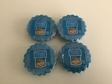Yankee Candle Turquoise Sky Tarts Wax Melts **Lot of 4**