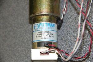 Pittman Ametek DC Gear Motor 24 VDC 19.7:1 Ratio GM9213C433-R2 with encoder