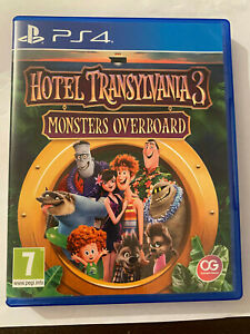 Hotel Transylvania 3 Monsters Overboard PS4 Playstation 4 Game Free UK P&P