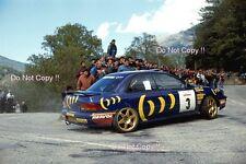 Carlos Sainz Subaru Impreza 555 Tour De Corse Rally 1994 Photograph 2