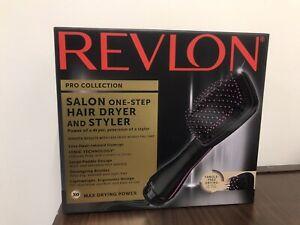 Professional One Step Hair Blow Dryer Styler Salon Smooth Straightener Brush New