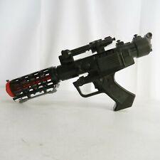 Star Wars Black Stormtrooper Blaster Gun Light & Sound Tested (Lucas Film, 2004)