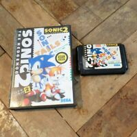 Sonic the Hedgehog 2 Asian Version Sega Mega Drive Game Boxed Free UK P+P