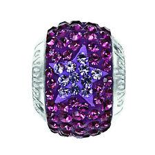 Lovelink Sterling Silver and Crystal Charm For Bracelet 11831567-24 RRP £45.95