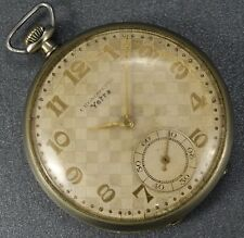 Vintage Vetta Chronometre by Wyler Pocket Watch Rare