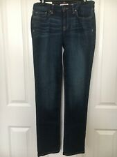 Tommy Hilfiger Womens Blue Jeans, Straight, Size 4, NWT. Sits Below The Waist!!!