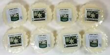 Yankee Candle Tarts: SPARKLING SNOW Wax Melts Lot of 8 White New