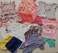 Toddler Girl's 3-6-Month Clothing Lot (13 pieces) Leggings T-shirts Dresses