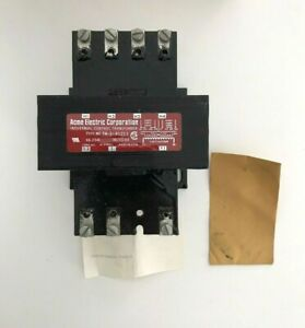 Acme Electric Machine Tool Control Transformer TA-1-81213 250VA 240/480 NOS