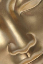 Lámina-cara de un Golden Buddha (Imagen Oriental Budista Budismo Arte)