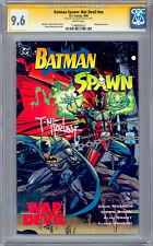 BATMAN-SPAWN WAR DEVIL #NN CGC-SS 9.6 SIGNED TODD MCFARLANE SPAWN CREATOR 1994