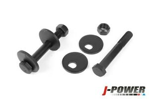 Front Lower Control Arm Caster Kit 12.9 Grade Cam Bolts For 00-09 Dodge Ram 4x4