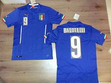 FW14 PUMA S HOME ITALIA 9 BALOTELLI MAGLIA MAGLIETTA MONDIALI SHIRT JERSEY