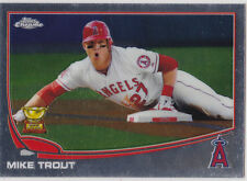 Mike Trout ANGELS Topps Chrome ROOKIE All-Star Card Baseball #27 Mint LE