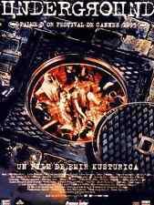 Bande annonce cinéma Trailer 35mm 1995 UNDERGROUND Emir Kusturica S Stimac