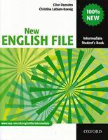 Oxford NEW ENGLISH FILE Intermediate Student's book @NEW@ 9780194518000