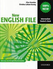 Oxford nuevo libro de archivo inglés intermedio del estudiante @NEW @ 9780194518000